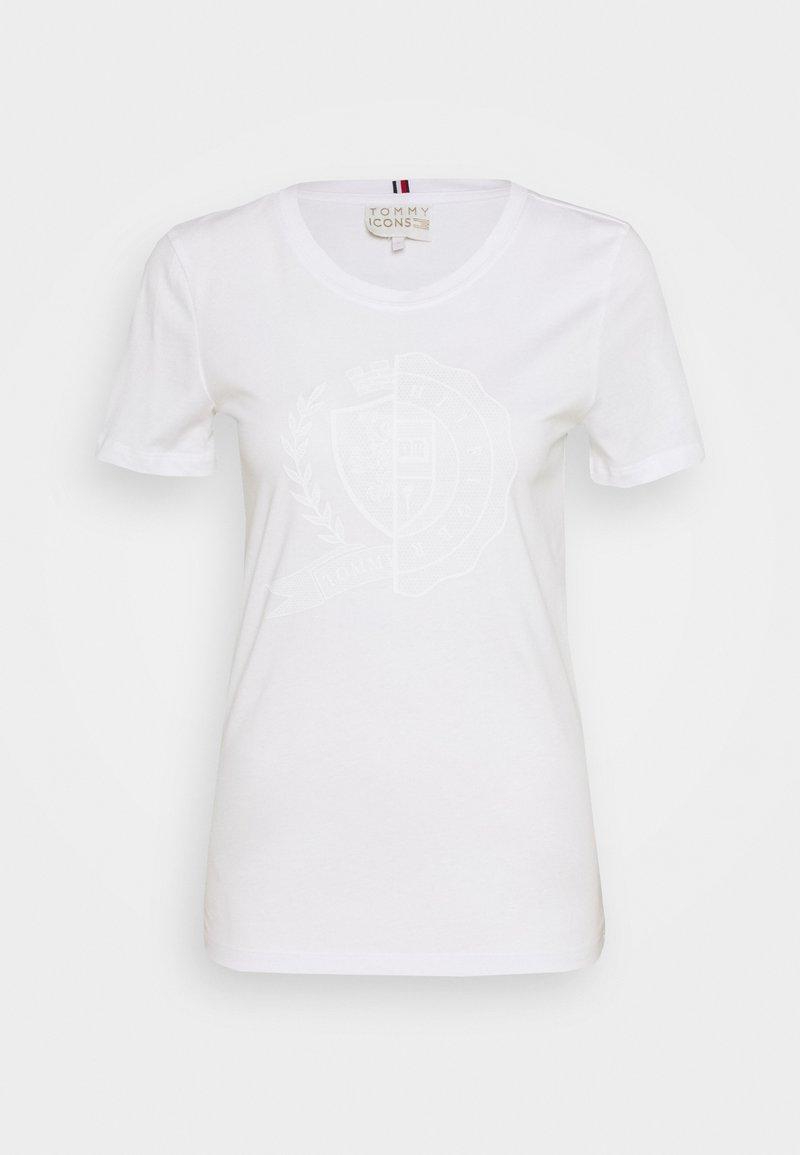 Tommy Hilfiger - ICON SLIM - Print T-shirt - white