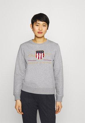 ARCHIVE SHIELD  - Sweatshirt - grey melange