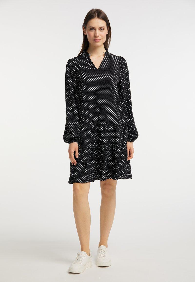 usha - Day dress - schwarz