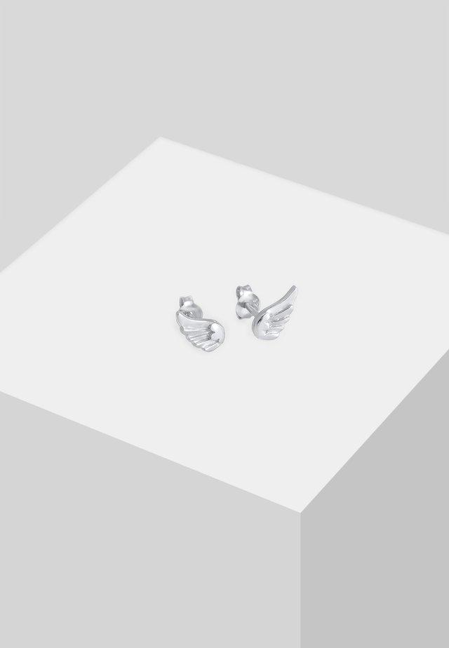 KINDER FLÜGEL - Earrings - silber