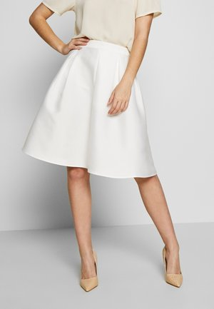 VIKAMMA SKIRT - A-line skirt - cloud dancer