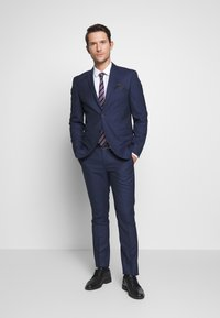 Selected Homme - SLHSLIM MYLOHOLT NAVY SUIT  - Suit - navy - 1