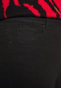 Simply Be - HIGH WAIST SKINNY - Jeans Skinny Fit - black - 4