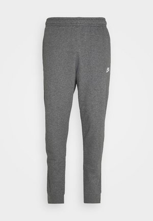 CLUB - Pantalones deportivos - charcoal heathr/anthracite/white