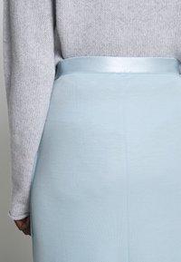 Filippa K - VIOLA SKIRT - Maxi sukně - pale blue - 6