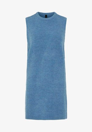 YASZAL LONG WAISTCOAT - Top - dusty blue