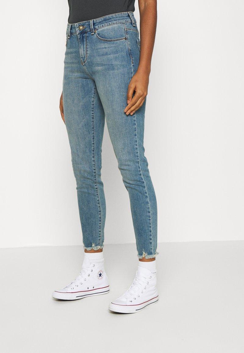 Ivy Copenhagen - ALEXA ANKLE WASH RIVA - Jeans Skinny Fit - denim blue