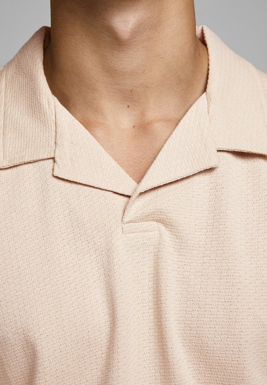 Jack & Jones PREMIUM JPRHAROLD - Polo shirt - oxford tan ZVG5i