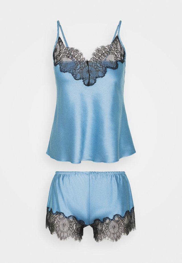 TOP WITH FRENCH KNICKERS - Pyjamas - sky blue