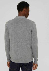 Esprit - PIMA - Cardigan - medium grey - 2