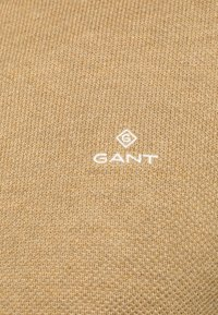 GANT - C NECK - Stickad tröja - sand melange - 4