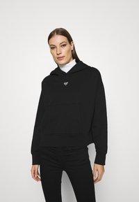Denham - MACE HOODY - Sweatshirt - black - 0
