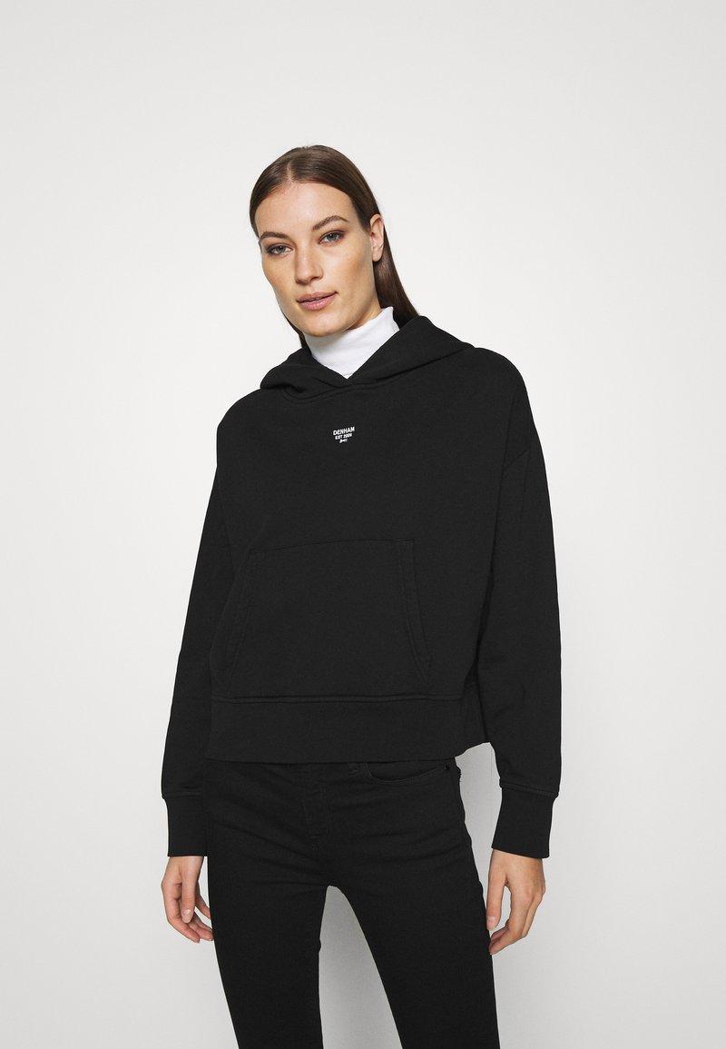 Denham - MACE HOODY - Sweatshirt - black