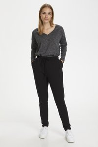 Kaffe - LINDA  - Trousers - black deep - 1