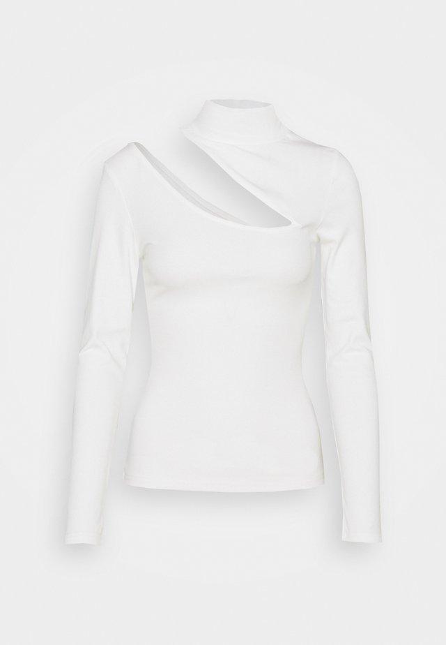 MORINE - Top sdlouhým rukávem - white