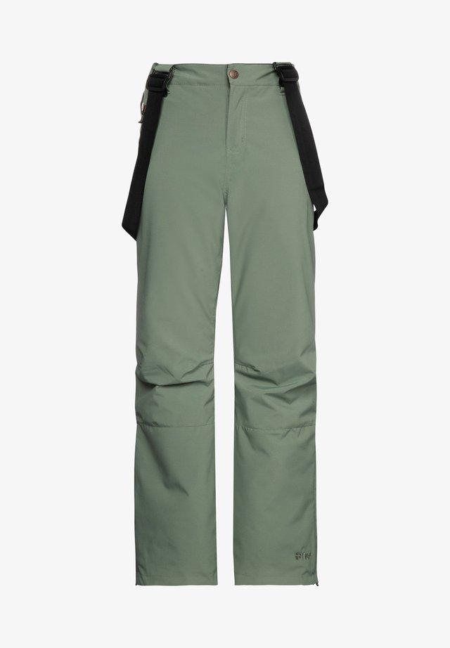 SPIKE JR  - Pantalon de ski - green spray