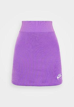 AIR SKIRT - Pencil skirt - violet shock/white