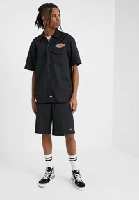Dickies - CLINTONDALE - Camicia - black - 1