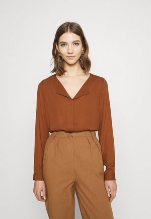 VILUCY - Blouse - tortoise shell