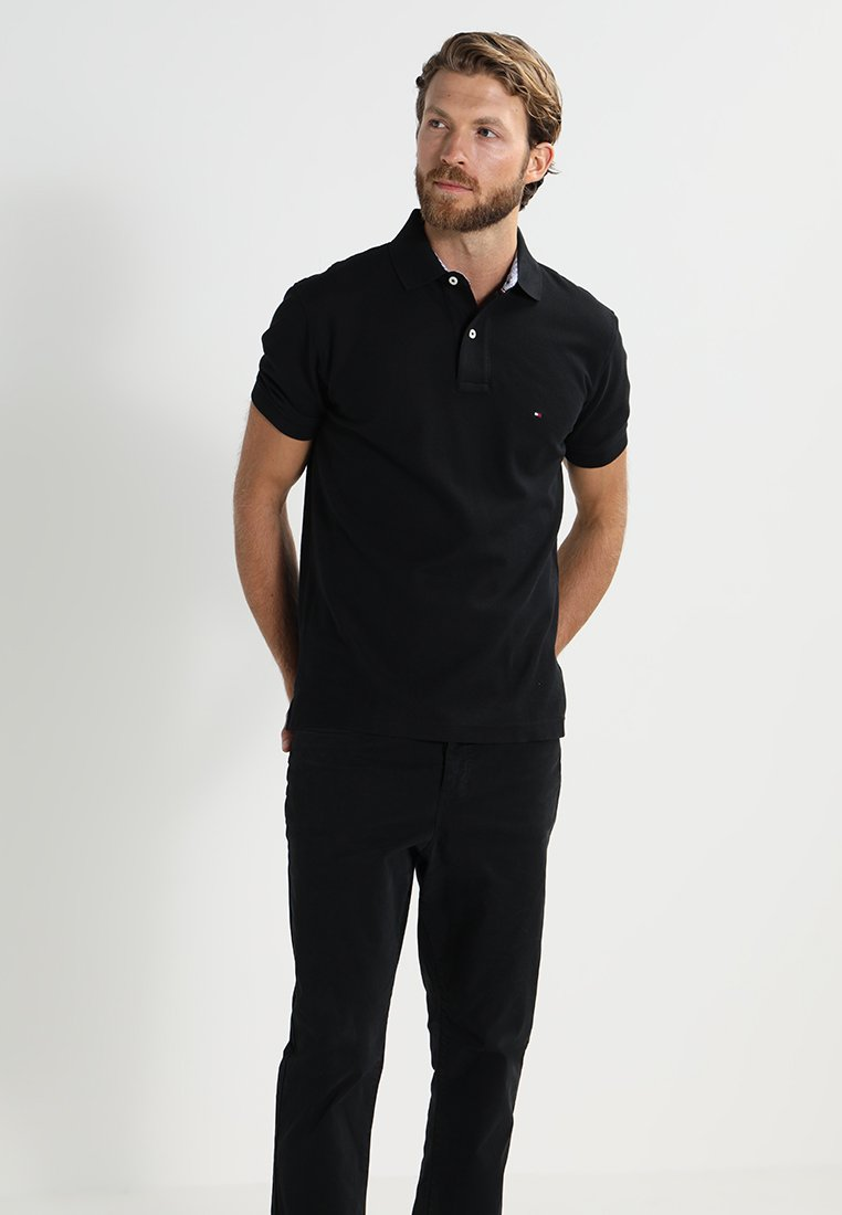 Tommy Hilfiger - PERFORMANCE REGULAR FIT - Polo shirt - black