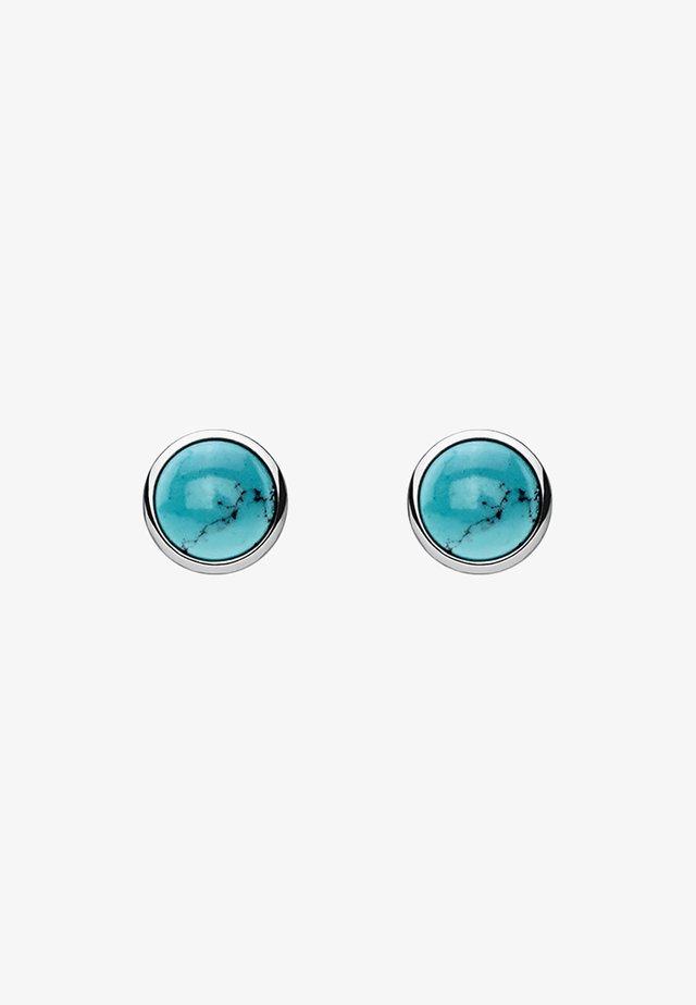 TÜRKIS  - Øreringe - silver coloured, turquoise