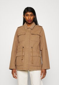 ONLY - ONLMAYA LIFE UTILITY JACKET  - Lett jakke - toasted coconut - 0