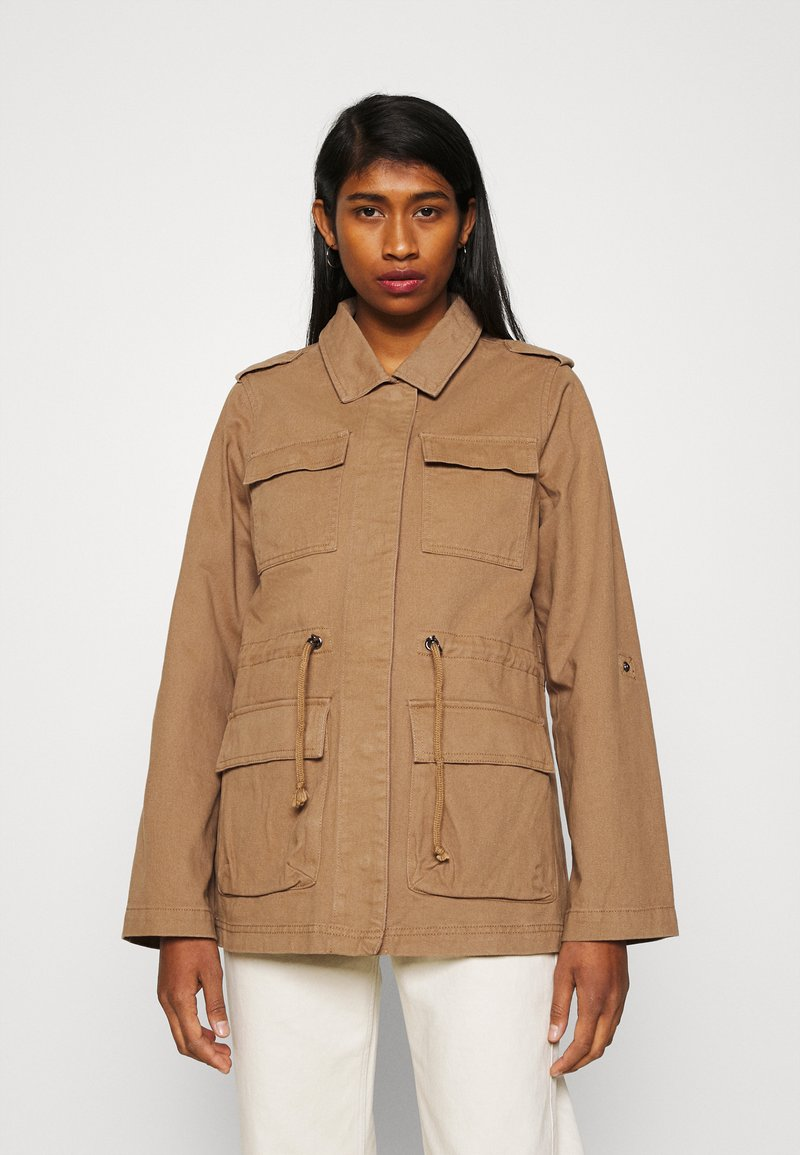 ONLY - ONLMAYA LIFE UTILITY JACKET  - Lett jakke - toasted coconut