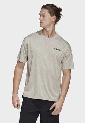 TERREX HIKE T-SHIRT - Print T-shirt - grey