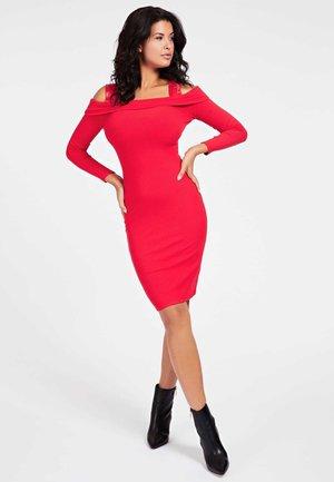 FABIANA  - Shift dress - rouge
