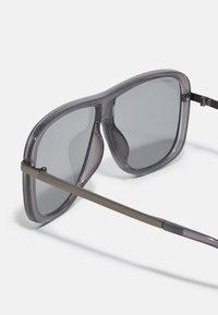 Urban Classics - SUNGLASSES MILOS 2 PACK UNISEX - Sluneční brýle - black/grey - 1