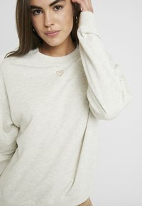 Monki - Sweatshirt - beige medium dusty - 5