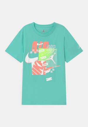 POST UP UNISEX - Print T-shirt - tropical twist