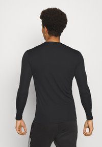 adidas Performance - TEAM BASE TEE - T-shirt à manches longues - black - 2