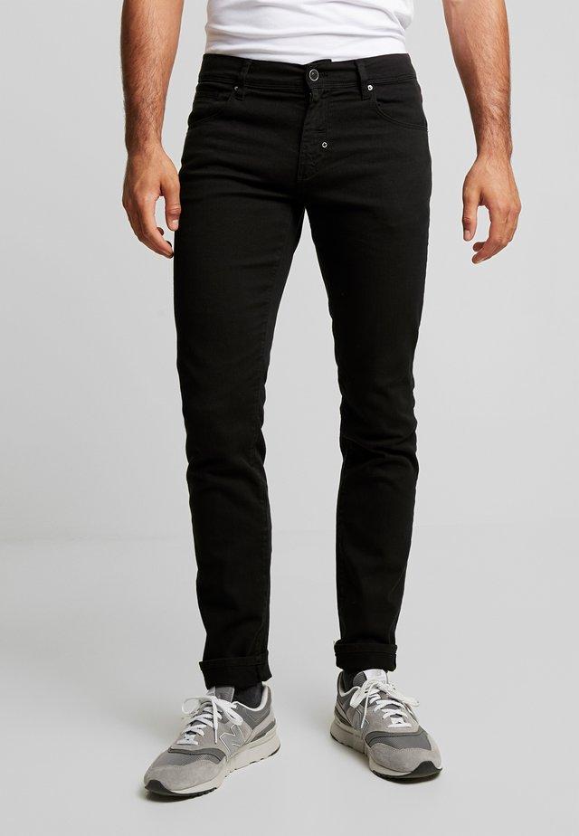 PANTS BARRET - Slim fit jeans - black