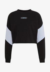 BLADEZ CROP CREW - Sweatshirt - black