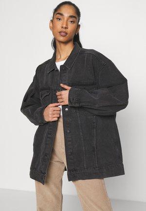 KATRINA JACKET - Denim jacket - black dark