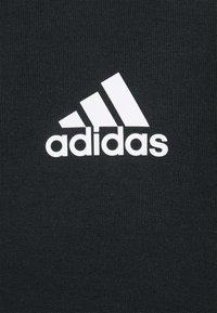 adidas Performance - Tröja med dragkedja - black/white - 2