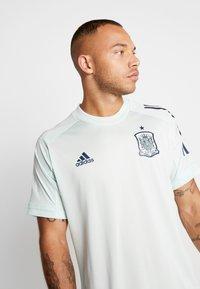 adidas Performance - SPAIN FEF TRAINING SHIRT - Print T-shirt - green - 3