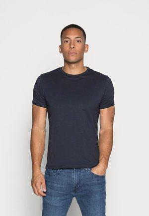 SHORT SLEEVE - Basic T-shirt - navy