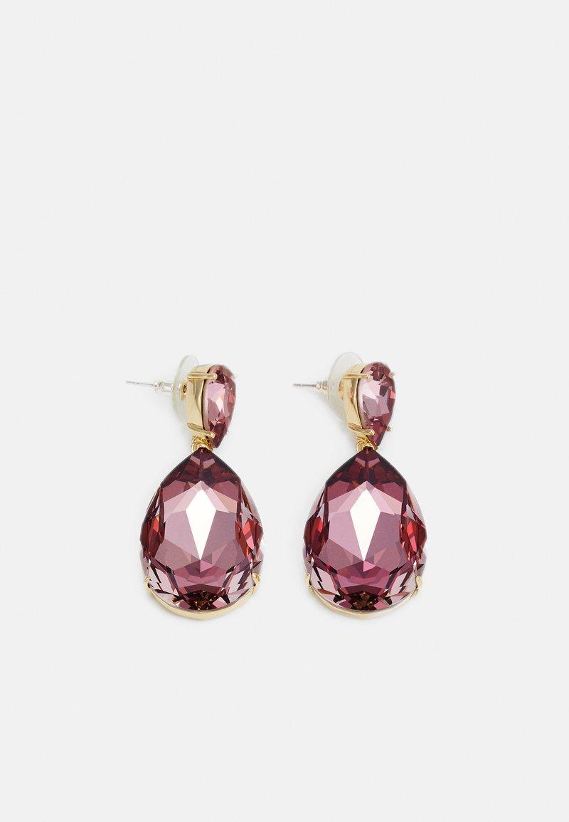 SNÖ of Sweden - WEST BIG PENDANT - Earrings - lilac