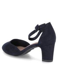 Tamaris - Ankle strap ballet pumps - blau - 3