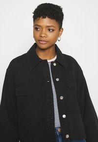 Monki - Denim jacket - black - 3
