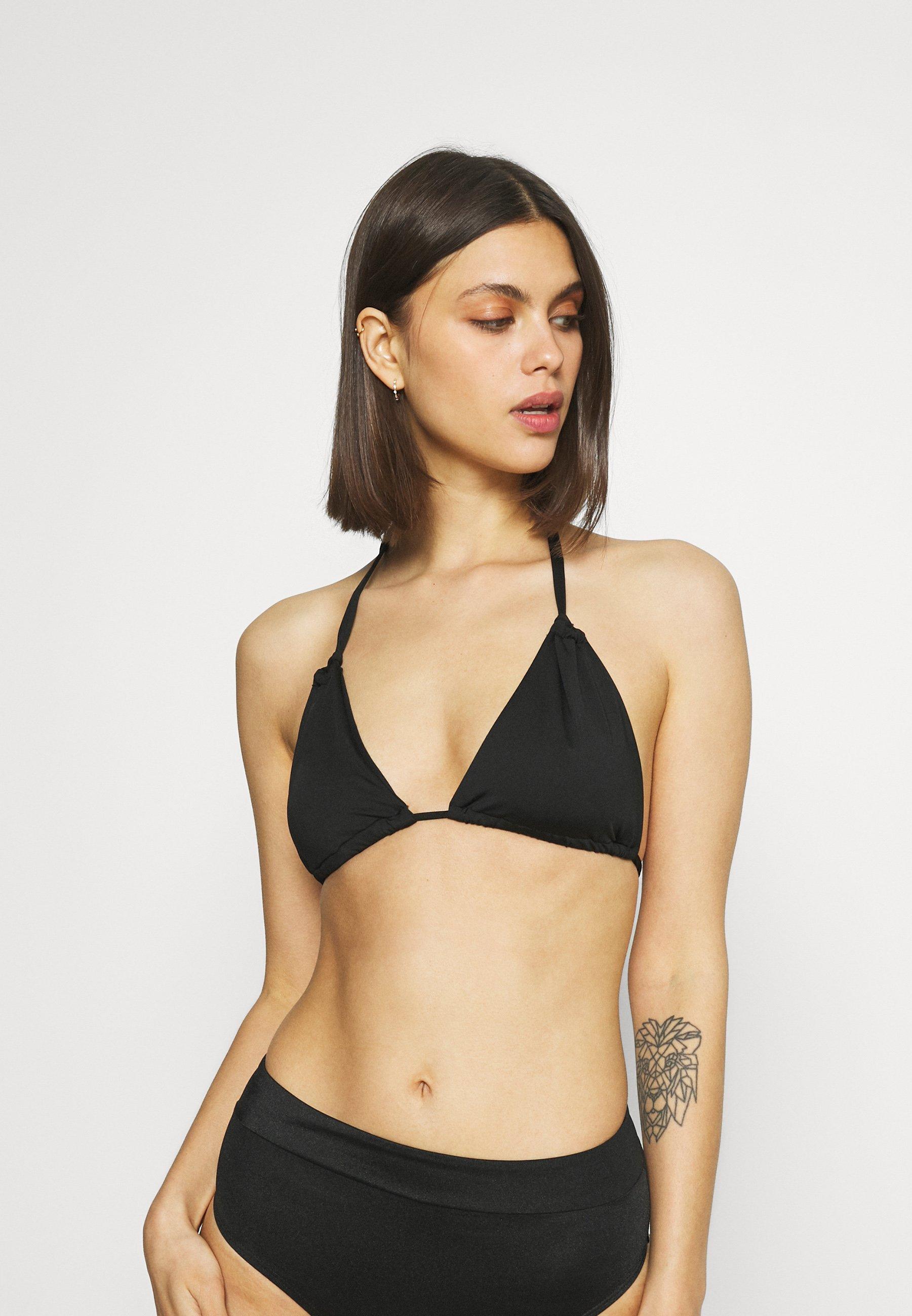 Women MELISSA GATHERED STRING TRIANGLE - Bikini top