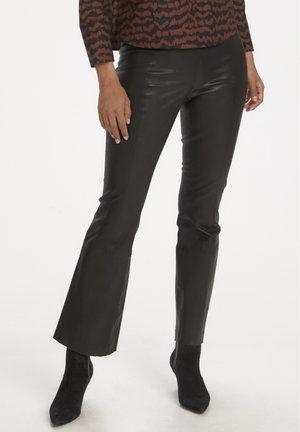 ISSA STRETCH  - Trousers - black