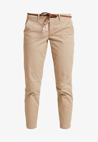 ONLY - ONLEVELYN ANKLE PANT  - Chinos - silver mink - 3