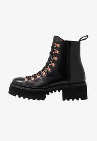 Grenson - NANETTE - Platform ankle boots - black colorado - 1