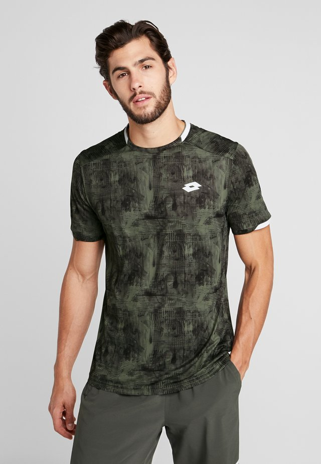 TOP TEN TEE - Print T-shirt - green resin