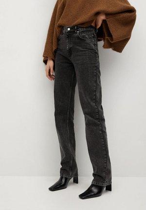 URBANITA - Straight leg jeans - open grey