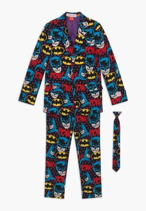 THE DARK KNIGHT™ SET - Suit - black/blue