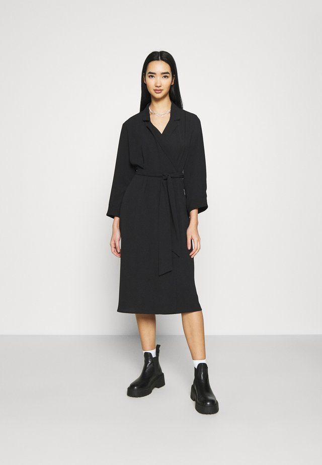 ANDIE DRESS - Korte jurk - black dark unique